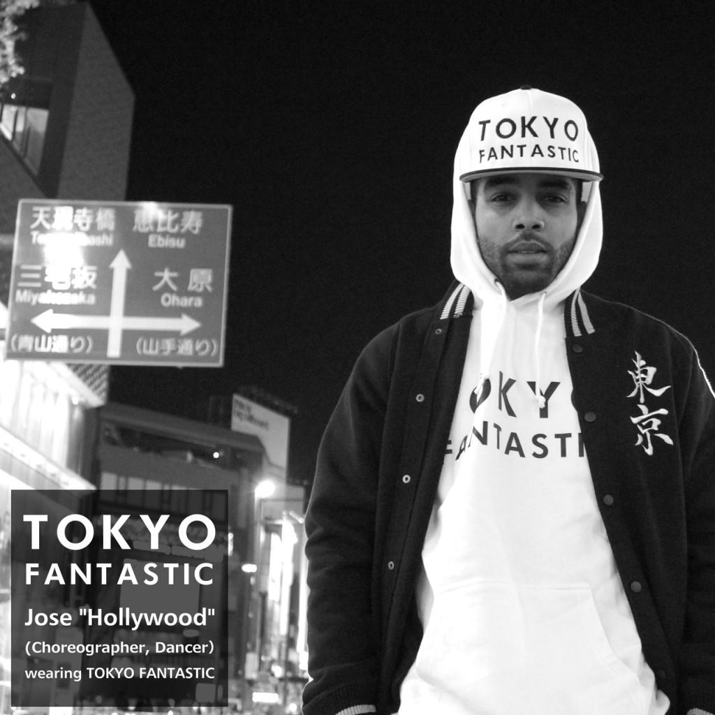 Hollywood wearing TOKYO FANTASTIC!!! Thanks!!!
