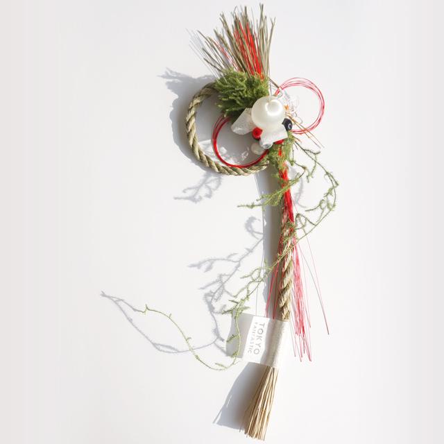 お正月飾り しめ縄 はじまりのむすび 縦