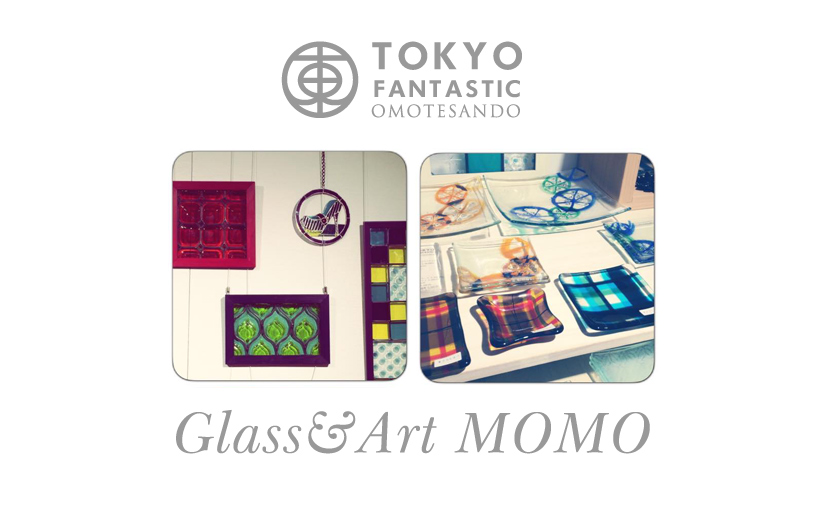 個展 Glass&Art MOMO Summer exhibition 2015 「ナツガラ」