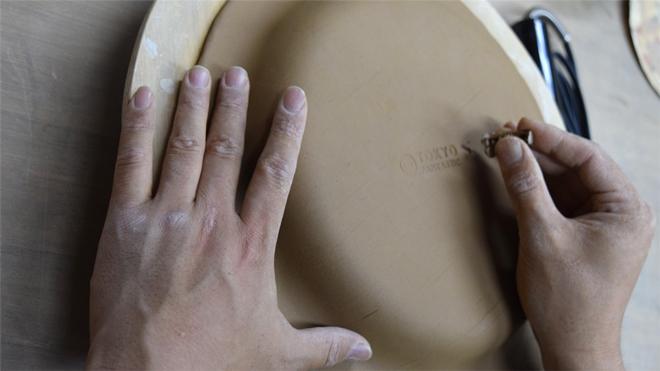 teto ceramic room tokyo fantastic 刻印 オーバル皿