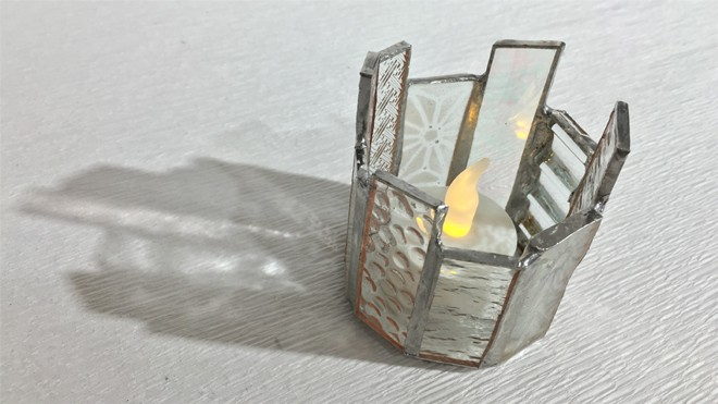 2016.1.31(日)Glass & Art MOMO キャンドルホルダー ワークショップ