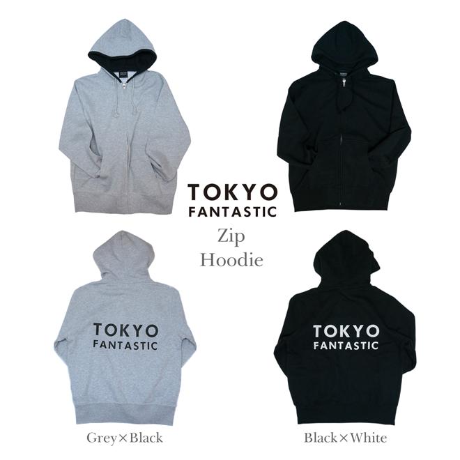 Zip Hoodie - TOKYO FANTASTIC