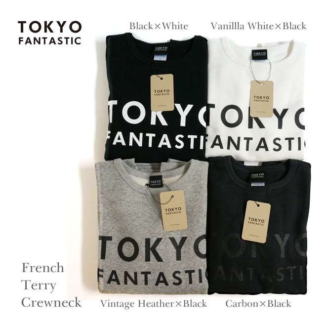 French Terry Crewneck - TOKYO FANTASTIC