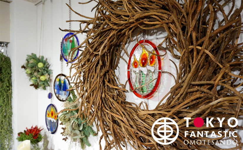 Glass & Art MOMO & Tida Flower Christmas exhibition 2015