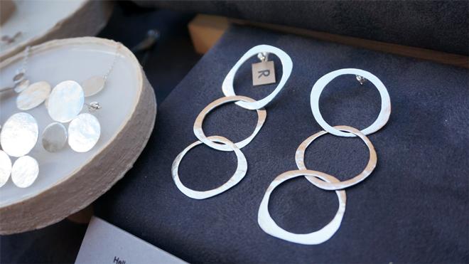 R 銀&真鍮アクセサリー link