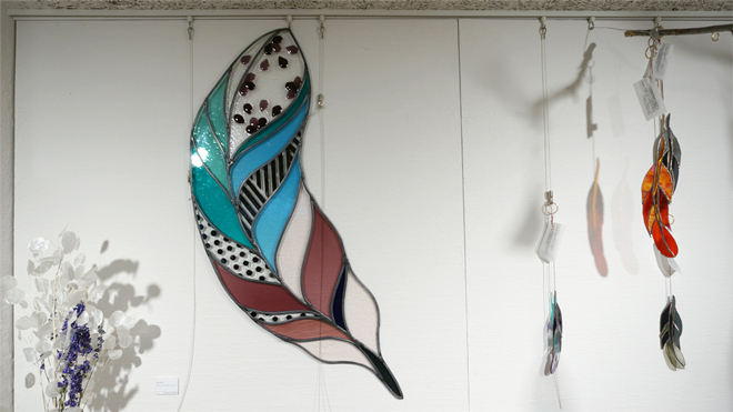 Glass&Art MOMO 個展「はるに舞う風」