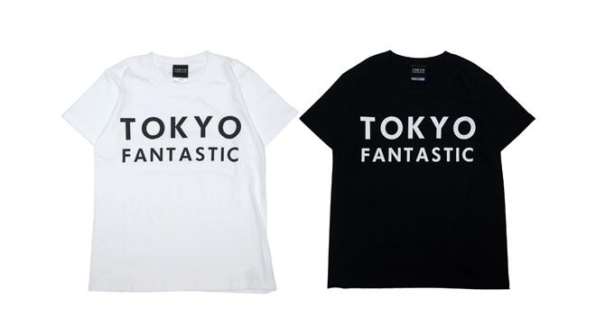 TOKYO FANTASTIC ブランドロゴ Tシャツ 白黒 黒白