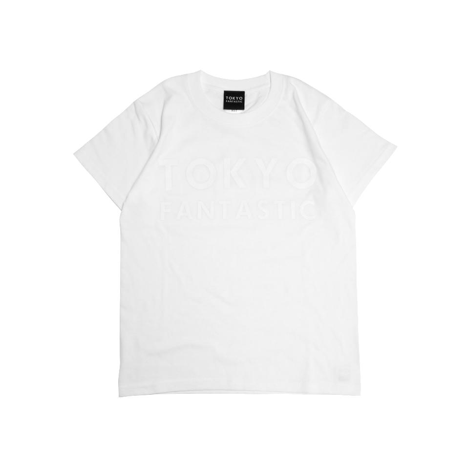 TOKYO FANTASTIC ブランドロゴTシャツ 白白