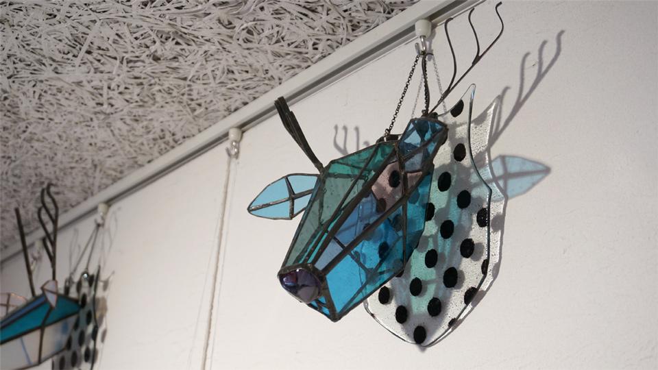 Glass & Art MOMO 個展「夏の夜の夢」