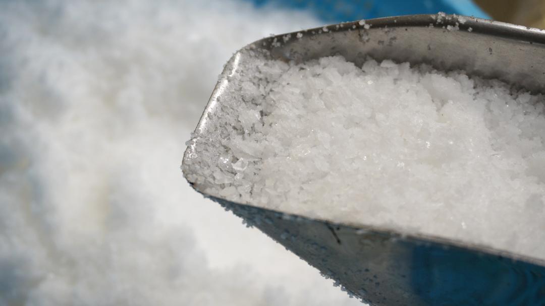 奥能登海水塩 塩の結晶