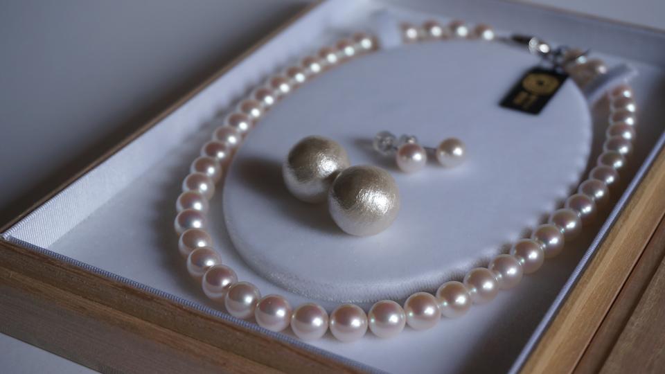 あこや真珠パールネックレス 三重ブランド