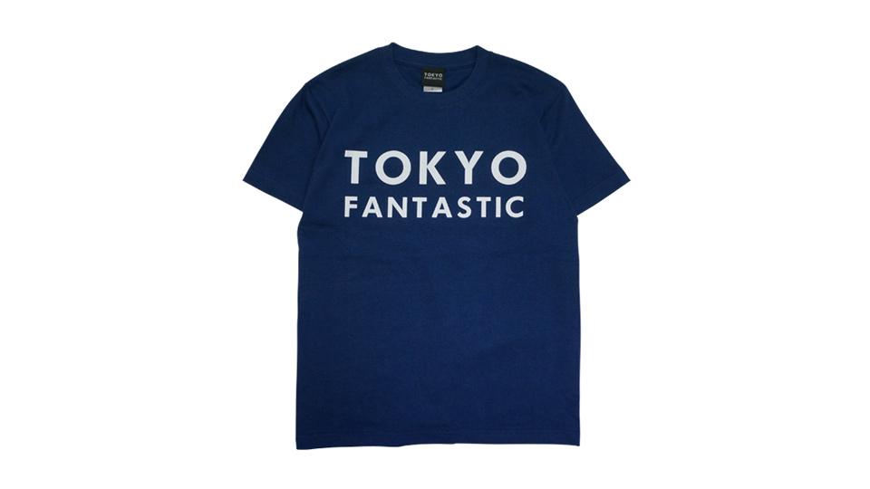 TOKYO FANTASTIC ブランドロゴTシャツ インディゴ