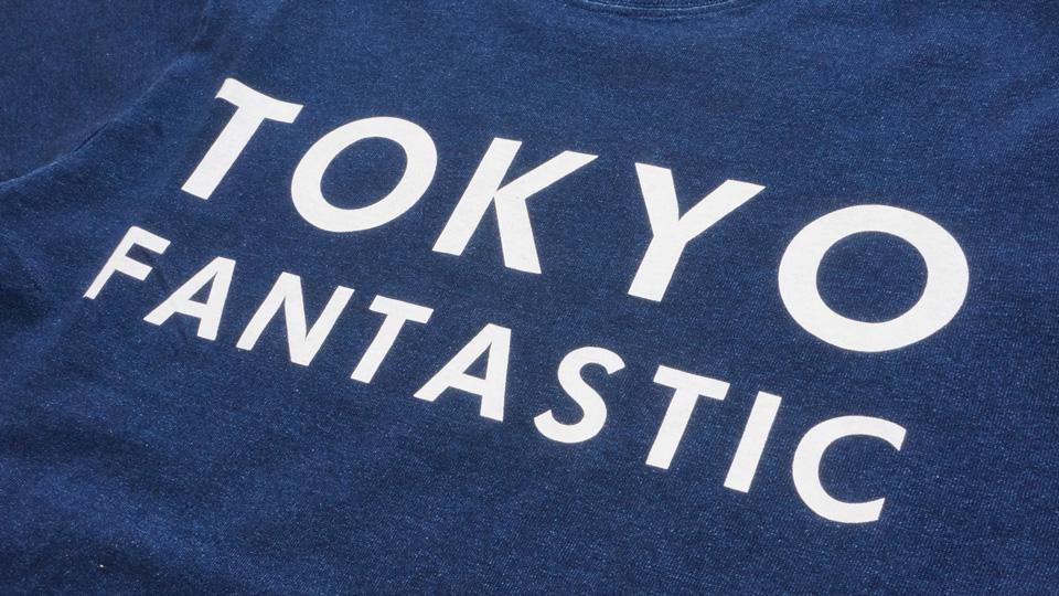 インディゴディープブルー Deep Blue TOKYO T-shirts TOKYO Tee Indigo