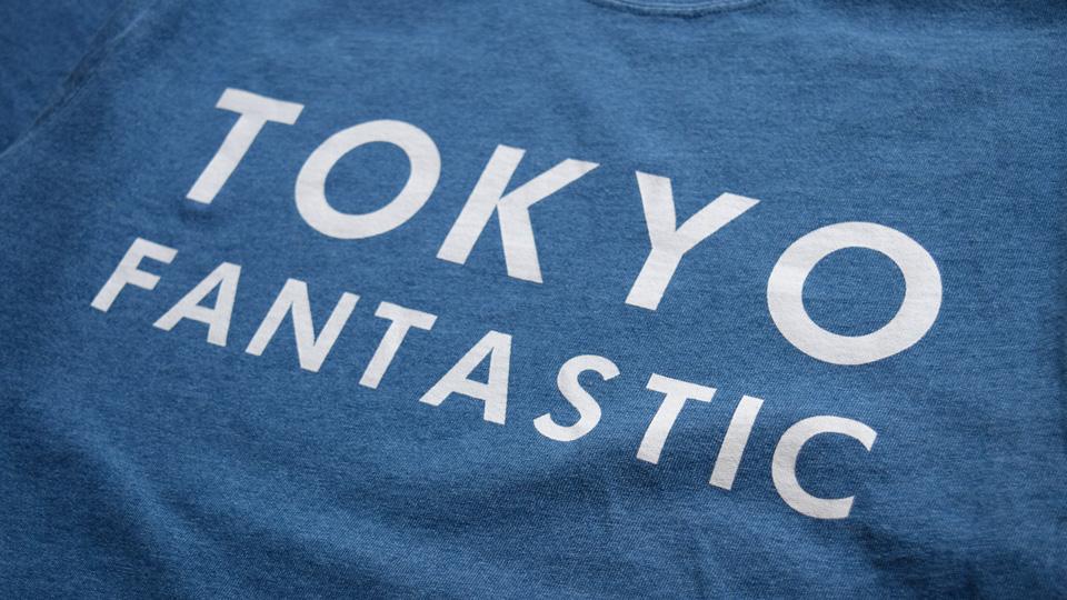 インディゴライトブルー Light Blue TOKYO T-shirts TOKYO Tee Indigo
