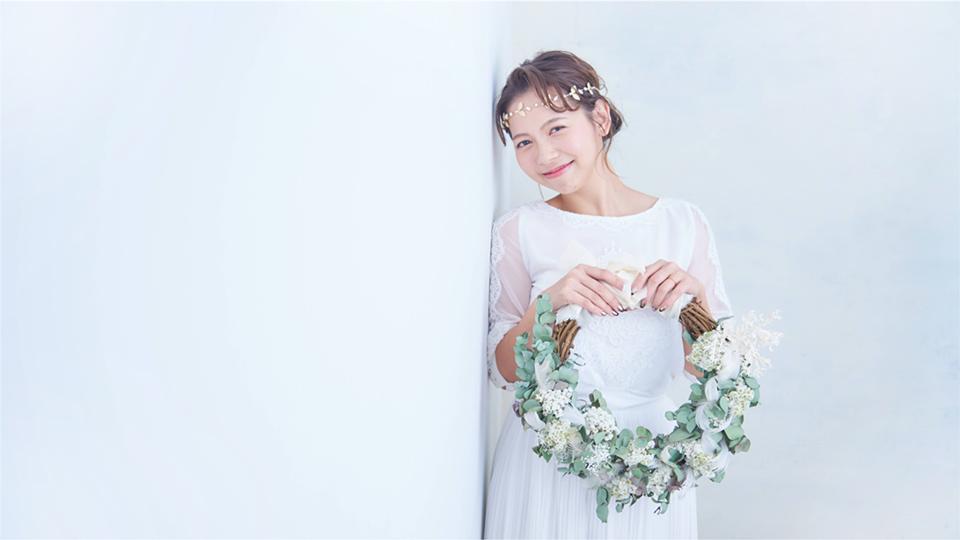 リースブーケ ウェディングフォト  THE DRESS ROOM × FAV PHOTO WEDDING with Tida Flower
