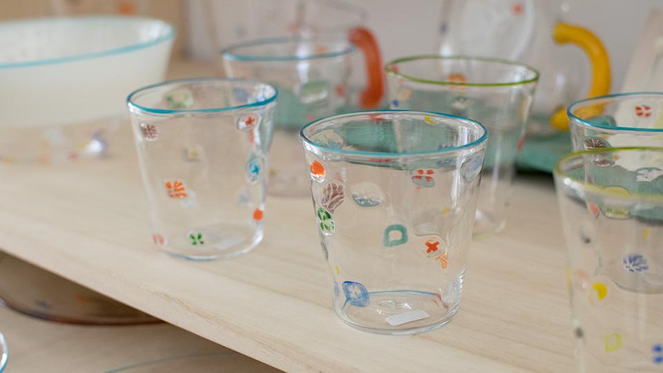 安達 寿英 toccio! glass works グラス ガラスマグカップ BUZZグラス