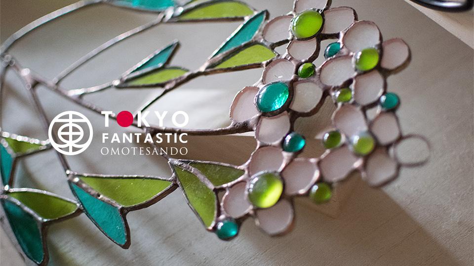 ボタニカル展 Glass & Art MOMO with Tida Flower