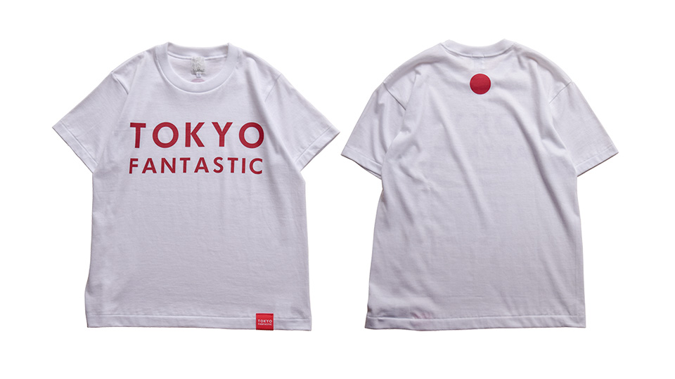 JAPAN T-shirt by TOKYO FANTASTIC 正面&背面 Front & Back