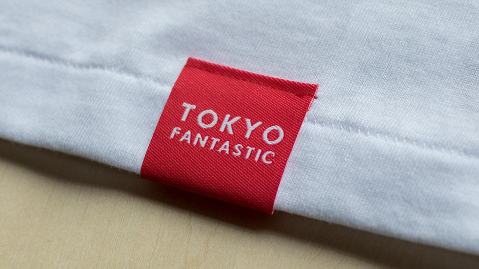 Japan T-shirt by TOKYO FANTASTIC 赤いブランドタグ(日本製/Made in Japan)