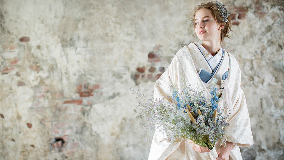 Kimono Wedding & Dried Flowers