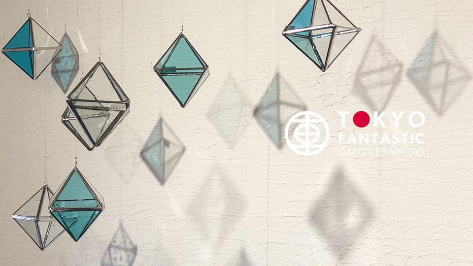 OMOTESANDO 表参道 Tida Flower ティダフラワー ウェブCMムービー Instagram Contact お問い合わせ 「夏雲」Glass&Art MOMO Summer exhibition 2018