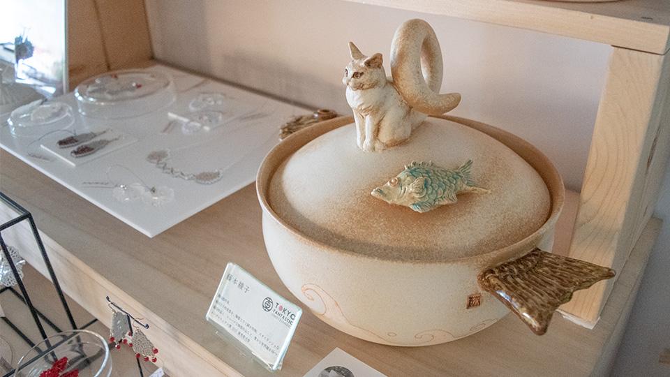 陶磁器作家 藤本綾子 しろしろ2018