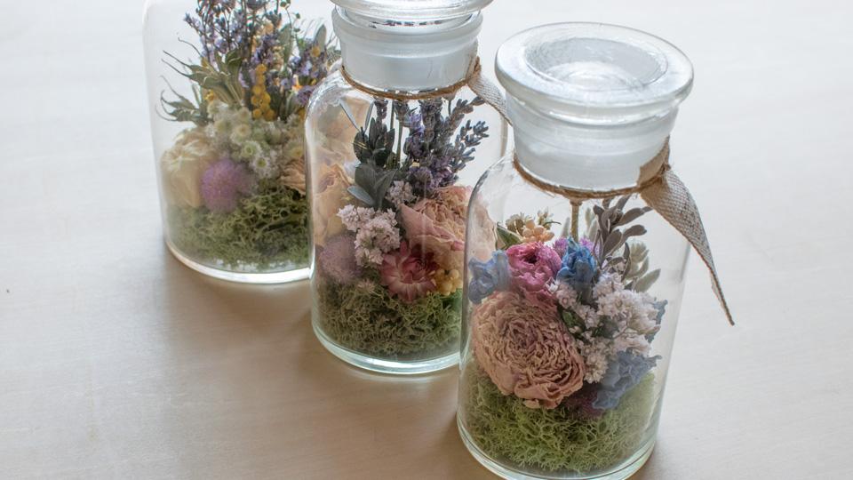 Tida Flower のフラワーボトル