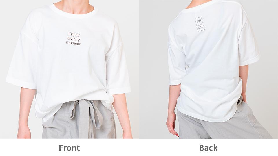 正面・フロント Front / 背面・バック Back