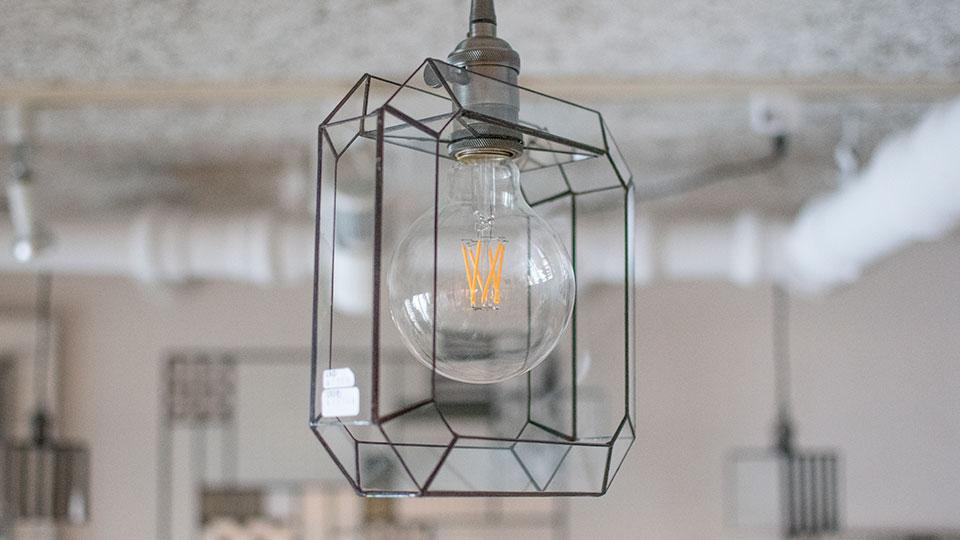 Glass&Art MOMO 「monotone」ガラスランプシェード