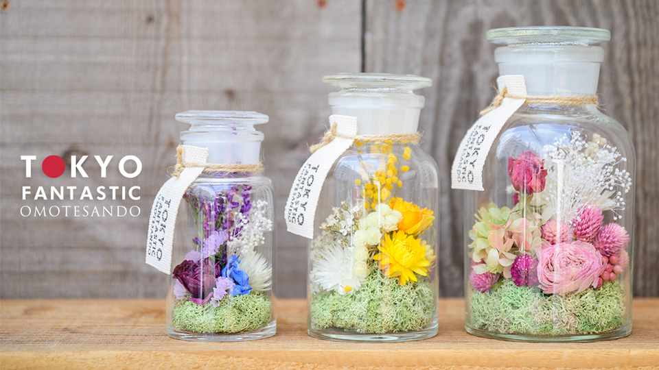 Tida Flower のフラワーボトル、通販開始です!