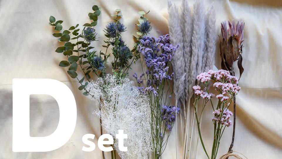 ドライフラワー花材セット Dセット