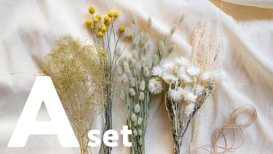 ドライフラワー花材セット Aセット