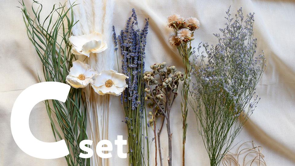 ドライフラワー花材セット Cセット