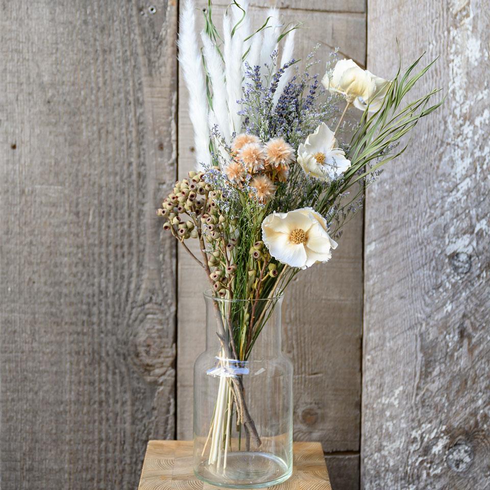 ドライフラワー花材セット Cセット ディスプレイ一例