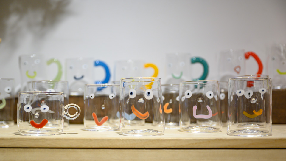 かおグラスは、十人十色、百人百色。