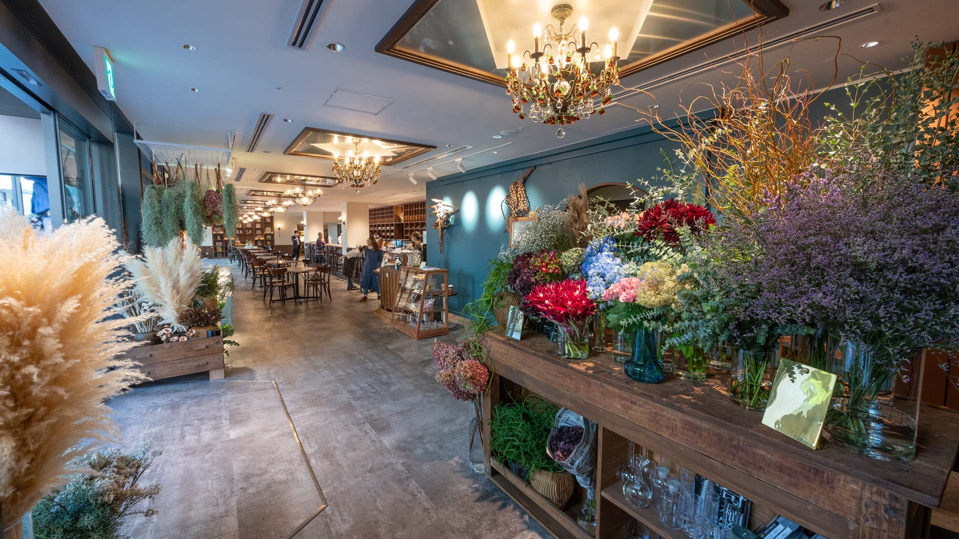 TOKYO FANTASTIC ボタニカル店と茶珈堂。