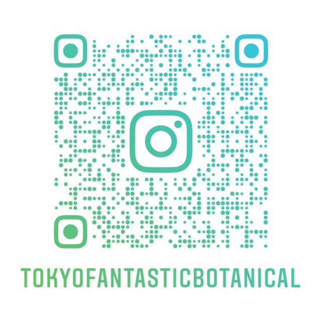 TOKYO FANTASTIC ボタニカル店 インスタグラム QRコード